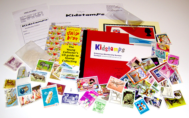 Kidstamps Starter Pack