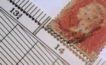 perforation gauge Stamps