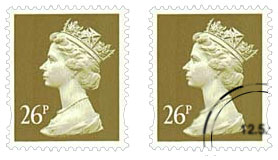 used and unused stamps